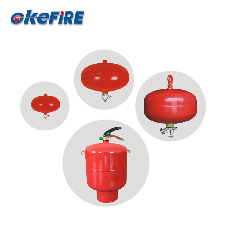 Okefire Dry Powder Hang Fire Extinguisher Steel Cylinder