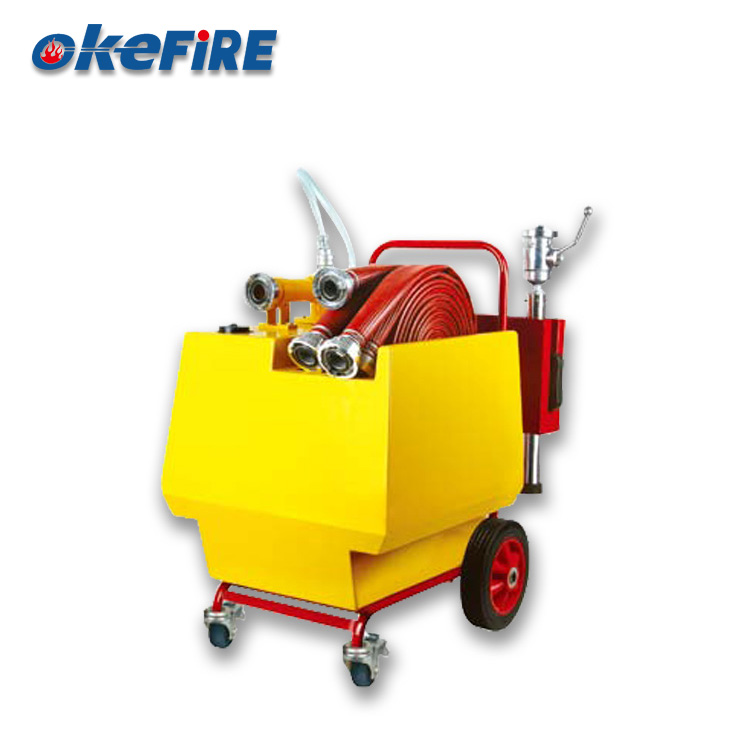 Okefire Foam Fire Extinguisher Cart With Indicator
