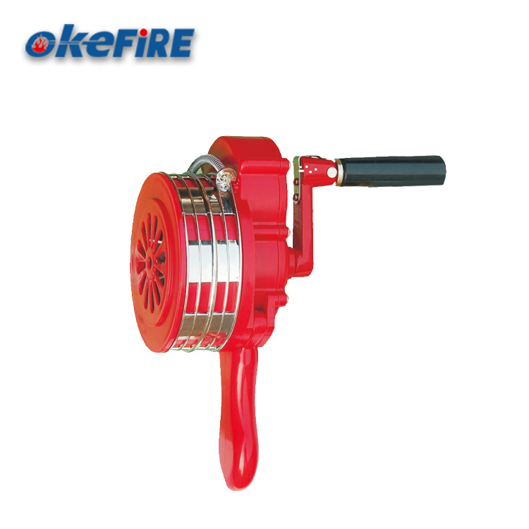 Okefire Durable ABS Plastic Hand Operated Alarm Siren