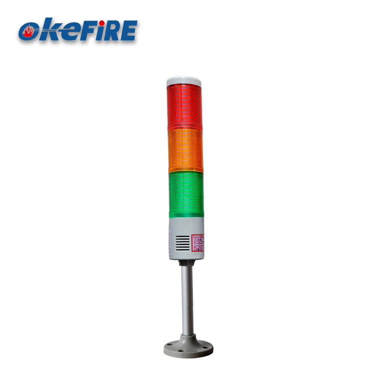 Okefire Multilayer Tower Flash LED Warning Signal Lamp