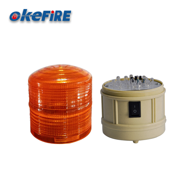 Okefire DC6V Led Caution Warning Beacon Light