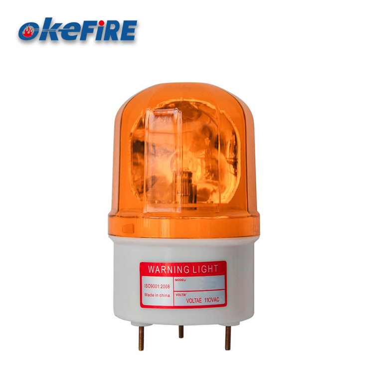 Okefire ABS Flash Led Warning Signal Alarm Rotating Light
